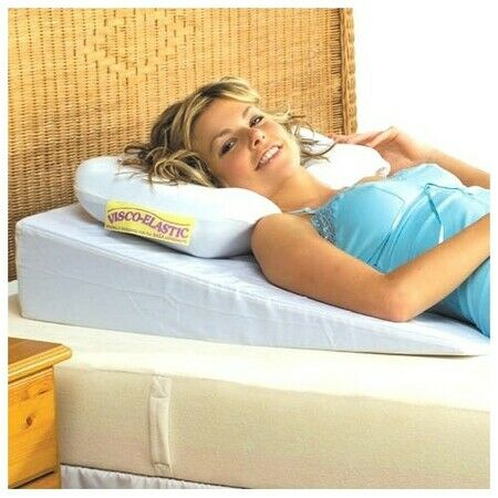 acid reflux wedge pillow made with memory foam. Black Bedroom Furniture Sets. Home Design Ideas