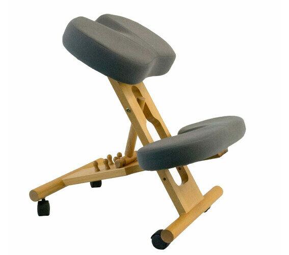 ergonomic adjustable coccyx relief posture memory foam kneeling